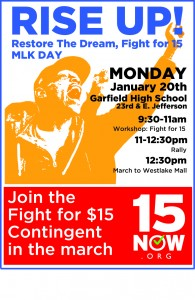 MLK March flier