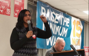 Seattle City Councilmember Kshama Sawant