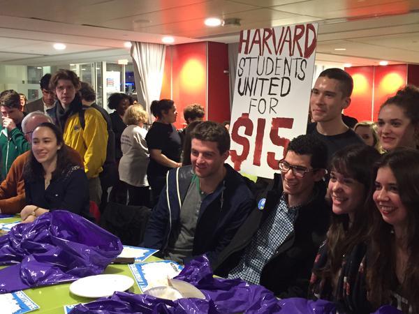 Harvard University students for $15