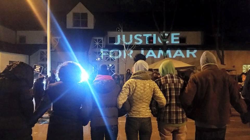 Photo via Black Lives Matter Minneapolis